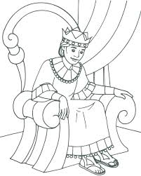 coloring page for king solomon king solomon coloring pages the giant slayer in the story of king