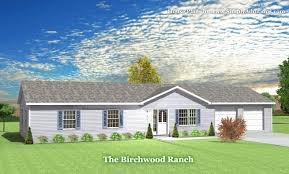 1950s Ranch House Plans Ranch Plans Great 8 Birchwood Modular Ranch House Prices And Plans