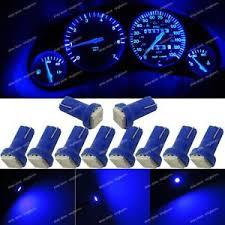 dashboard led light bulbs 10x deep blue t5 73 74 instrument gauge dashboard led light bulbs