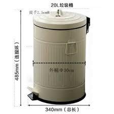 poubelle cuisine 20 litres wuieayon poubelle européenne à l épaississement rétro accueil