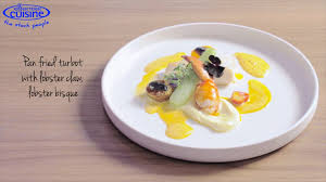Lobster Bisque Recipe Imi Kader Creates A Pan Fried Turbot With Lobster Claw And Lobster