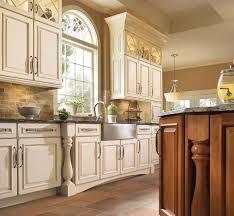 Green Subway Tile Backsplash Transitional Kitchen Room Design Kraftmaid Cabinets Transitional Kitchen