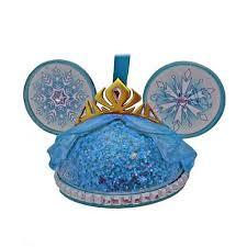 your wdw store disney ear hat ornament elsa frozen