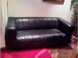 Cover Leather Sofa Ikea Klippan Leather Sofa Sofa Hpricot Com