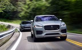 lexus isf vs audi rs6 2017 jaguar f pace s vs 2017 porsche macan gts u2013 comparison test