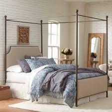birch lane williston upholstered canopy bed u0026 reviews wayfair