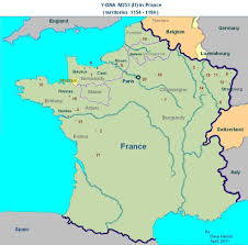 A Map Of France by Ham Country Blog Mapping Y Dna M253 In France