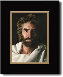 jesus print prince of peace matted 16 x 20 painted by akiane