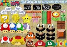 Super Mario Home Decor by Super Mario Brothers Photo Booth Props Decor Bumper Pack