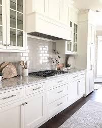 white shaker kitchen cabinets backsplash white kitchen shaker cabinets with grey subway tile