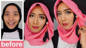 tutorial make up wardah untuk pesta one brand makeup tutorial wardah makeup pesta natural inivindy