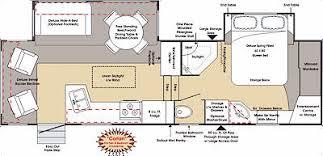 Fifth Wheel Floor Plans Okanagan Fifth Wheel Floor Plans