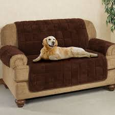 pet sofa covers that stay in place microplush pet furniture covers with longer back flap