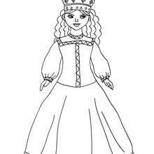 thai princess coloring pages hellokids