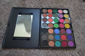 35 color matte eyeshadow palette the first that was graciously given to me was this incredible 35 shade eyeshadow palette