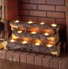 cool electric fake fireplace logs design ideas modern modern to