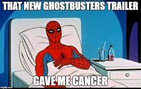 Gave Me Cancer Meme - spider man imgflip