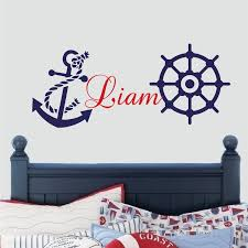 Nursery Wall Decals For Boys Nautical Wall Decal Boys Room Wall Sticker Nursery Wall Decals