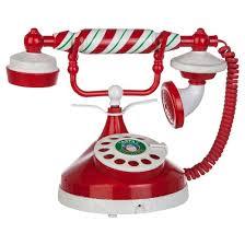 animated santa animated christmas santa telephone candy stripe with glitter