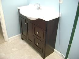 how to finish a basement bathroom vanity plumbing