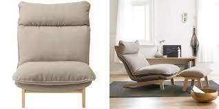 Ikea Recliner Chair Furniture High Back Reclining Chair From Muji 15 Ikea