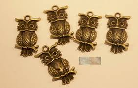 charm owls charms owl pendant accessory creation craft
