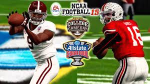 college football thanksgiving day ncaa football 15 1 alabama vs 4 ohio state 2015 allstate