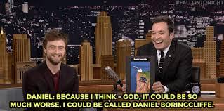 Daniel Radcliffe Meme - the tonight show starring jimmy fallon jimmy confronts daniel