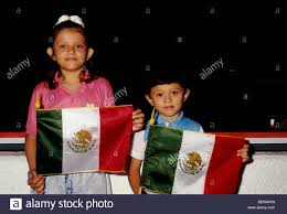 Mexicans Flags Mexicans Mexican Mexican Boy Brother And Sister Holding