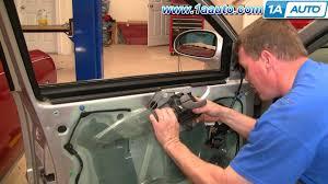 How To Replace Exterior Door by How To Install Repair Replace Inside Front Door Handle Buick