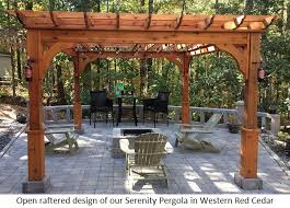 Pergola Coverings For Rain by Pergola Kits Usa Com
