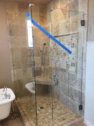 heavy glass shower door j n mirror and glass co san diego u0027s premier glazing contractor