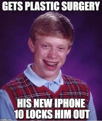 Iphone 10 Meme - anyone else think this facial recognition thing is kind of dumb