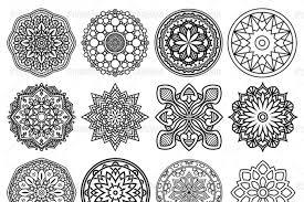 100 vector mandala ornaments by pixaroma thehungryjpeg