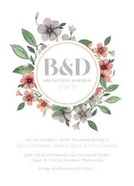 wedding invitations floral floral circle invitation set dp wedding invitations