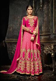anarkali wedding dress wedding wear anarkali buy pink anarkali salwar