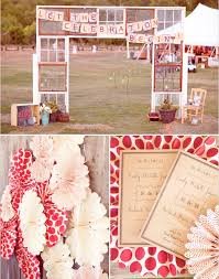 Red Wedding Decorations Rustic Red Wedding Theme 001 Weddings By Lilly