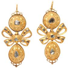 types of earring backs for pierced ears identifying antique and vintage earring styles