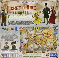 Rail Map Of Europe by Amazon Com Ticket To Ride Europe Game Toys U0026 Games