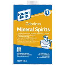 klean strip 1 qt odorless mineral spirits qksp94005 the home depot