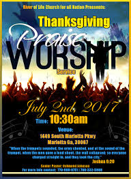rolc thanksgiving praise worship service tickets sun jul 2
