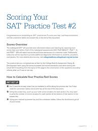 scoring sat practice test 2 docshare tips
