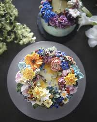 flower cakes buttercream floral cakes that look beautiful to eat junk host