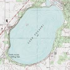 minnesota topographic map lake pulaski wright county minnesota lake buffalo east usgs