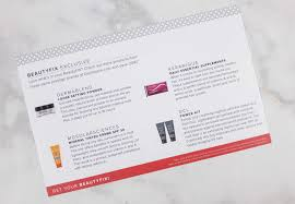 beautyfix august 2017 subscription box review coupon hello