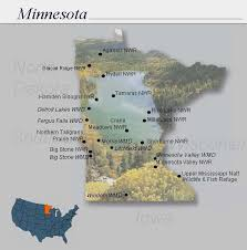Minnesota wildlife images Nwrs refuge locator map minnesota jpg