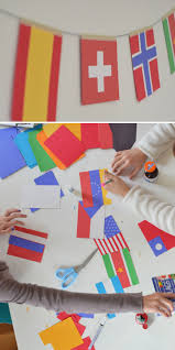 World Flag Make World Flag Garland Artbar