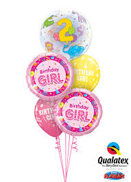 balloons delivered 2nd birthday balloon bouquet delivery in portland or 503 285 0000