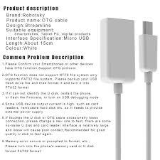 format flashdisk untuk otg robotsky otg adapter usb to micro usb converter usb 2 0 otg adapter