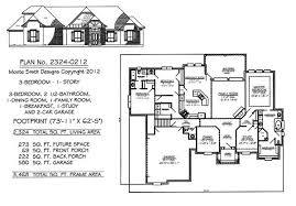 three bedroom two bath house plans 2201 2800 sq 3 bedroom house plans